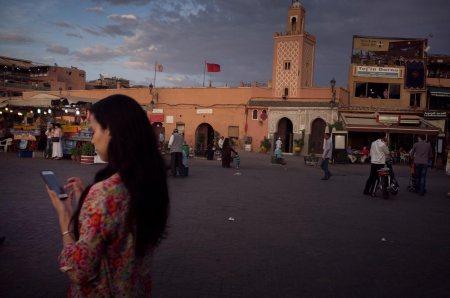 Praça Jemaa el-Fna, Marraquexe. Marrocos, 2015 ©Luís Rocha